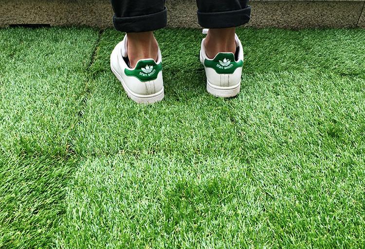 Tấm cỏ nhựa đẹp