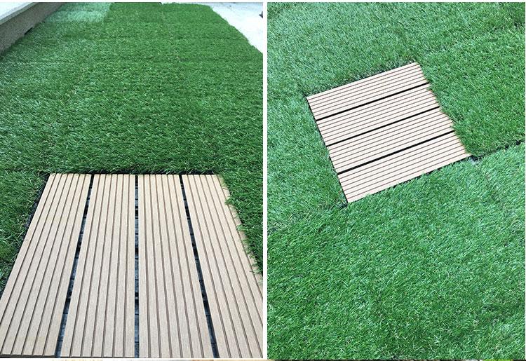 Hình ảnh tấm cỏ nhựa thi công bởi Landecor