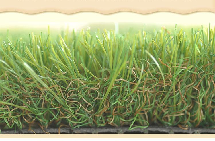 cấu tạo của tấm cỏ nhựa