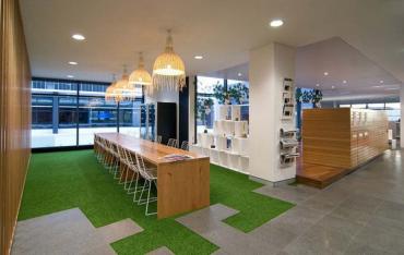Giải pháp kiến tạo không gian xanh cho văn phòng