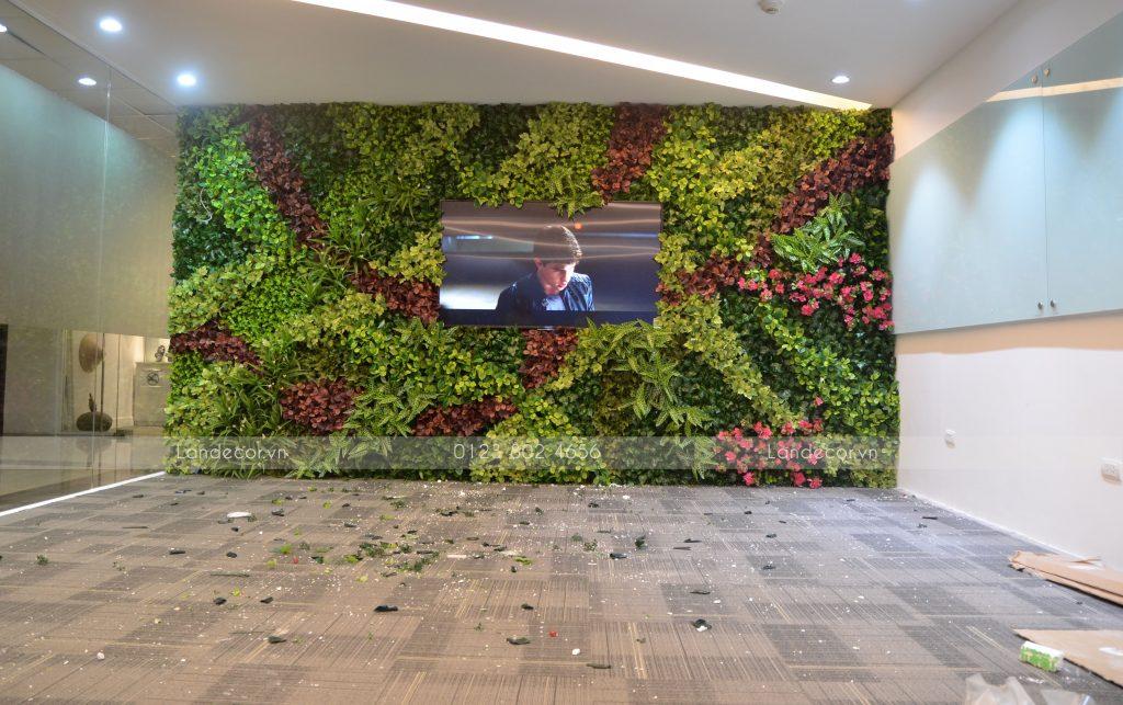 Tường cây nghệ thuật cho văn phòng tại Vũ Trọng Phụng