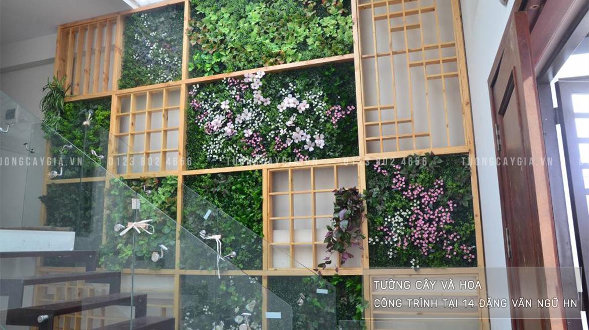 Báo giá Tường cỏ giả ở Địa bàn Hà Nội