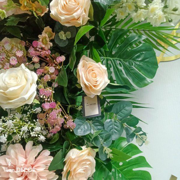 backdrop hoa cưới